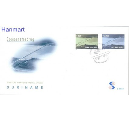 Znaczek Surinam 1999 Mi 1693-1694 FDC