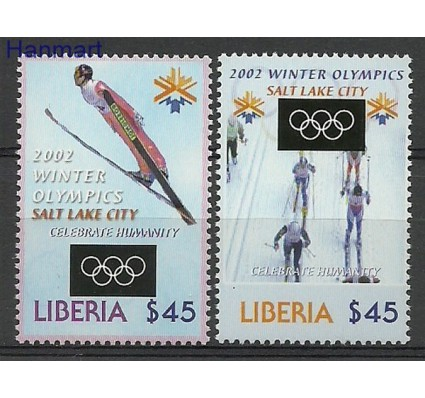 Znaczek Liberia 2002 Mi 4617-4618 Czyste **
