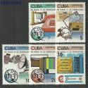 Kuba 1983 Mi 2772-2776 Czyste **
