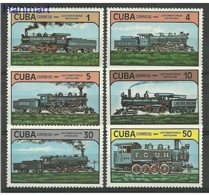 Znaczek Kuba 1984 Mi 2859-2864 Czyste **