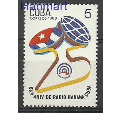 Znaczek Kuba 1986 Mi 3016 Czyste **