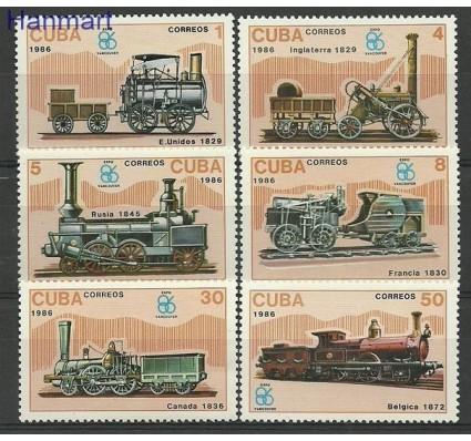 Znaczek Kuba 1986 Mi 3017-3022 Czyste **