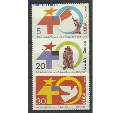 Znaczek Kuba 1985 Mi 2950-2952 Czyste **