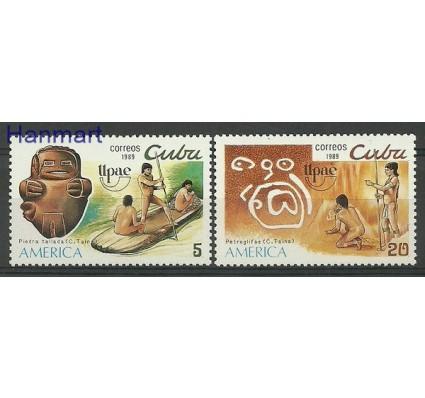 Znaczek Kuba 1989 Mi 3312-3313 Czyste **