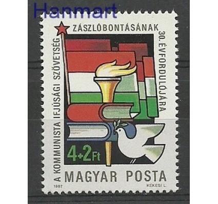 Znaczek Węgry 1987 Mi 3885 Czyste **