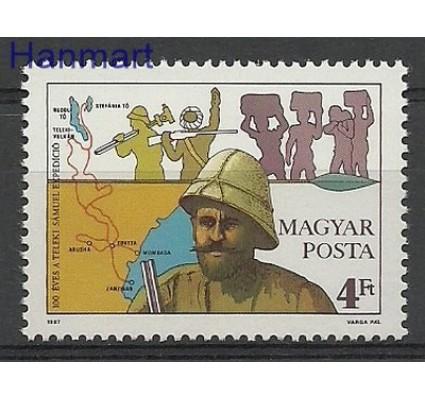 Znaczek Węgry 1987 Mi 3905 Czyste **