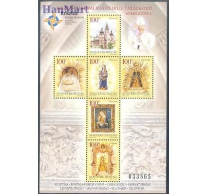 Znaczek Węgry 2004 Mi bl 293 Czyste **