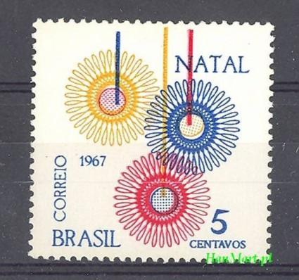 Znaczek Brazylia 1967 Mi 1158 Czyste **