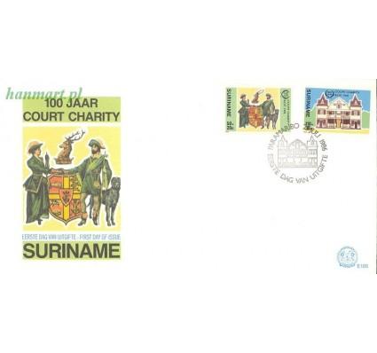 Znaczek Surinam 1986 Mi 1183-1184 FDC