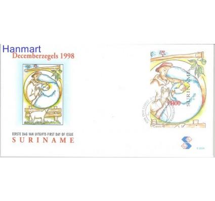 Znaczek Surinam 1998 Mi bl 75 FDC