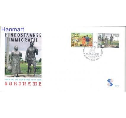 Znaczek Surinam 1998 Mi 1650-1651 FDC