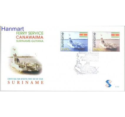 Znaczek Surinam 1998 Mi 1664-1665 FDC