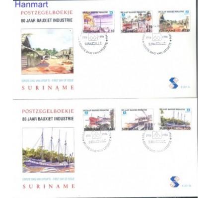 Znaczek Surinam 1996 Mi 1579-1584 FDC