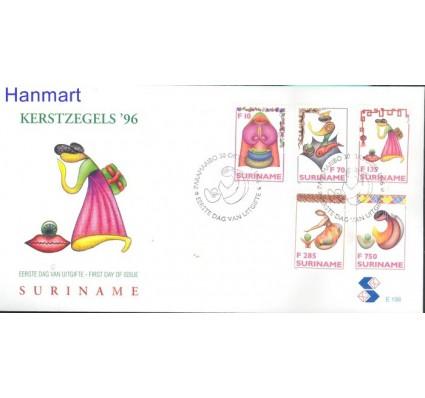 Znaczek Surinam 1996 Mi 1567-1571 FDC
