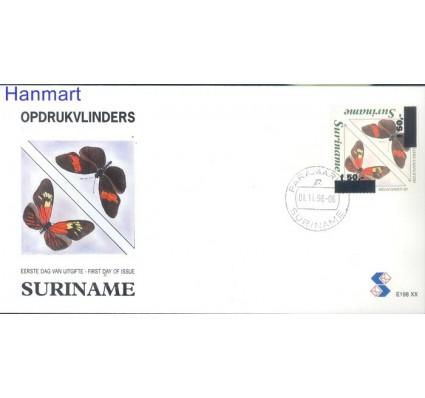 Znaczek Surinam 1996 Mi 1572-1573 FDC