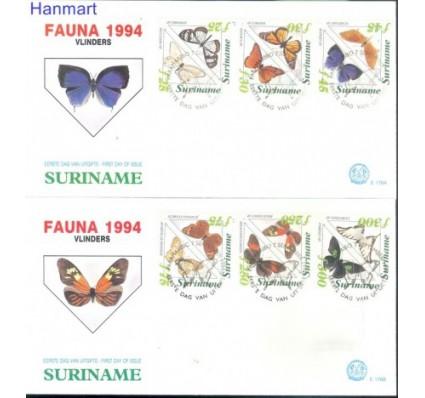 Znaczek Surinam 1994 Mi 1481-1492 FDC