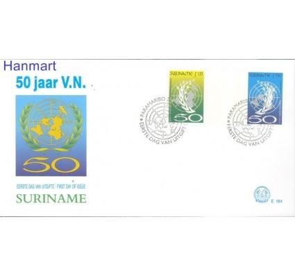 Znaczek Surinam 1995 Mi 1521-1522 FDC
