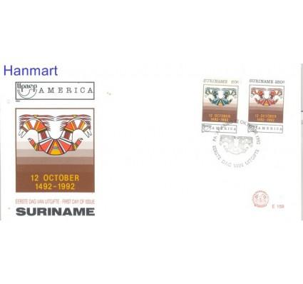 Znaczek Surinam 1992 Mi 1420-1421 FDC