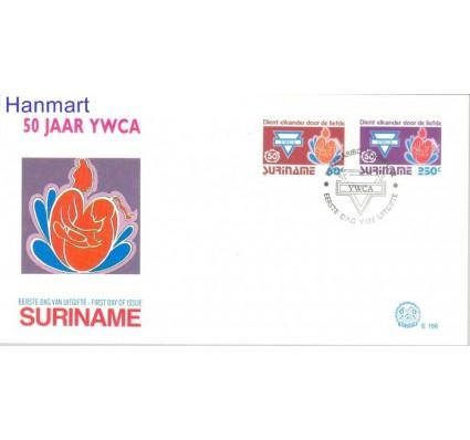 Znaczek Surinam 1992 Mi 1413-1414 FDC