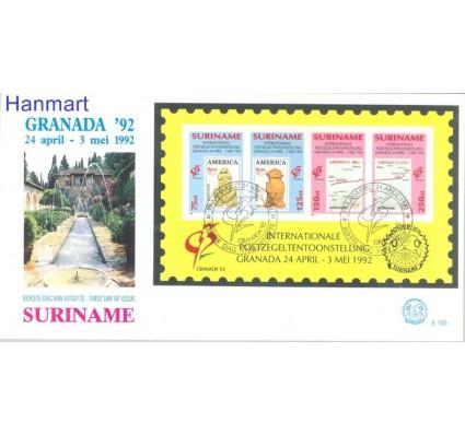 Znaczek Surinam 1992 Mi bl 57 FDC