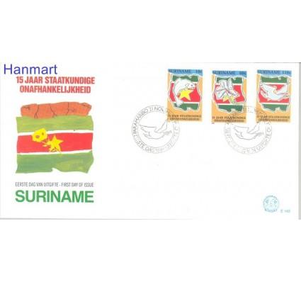 Znaczek Surinam 1990 Mi 1350-1352 FDC