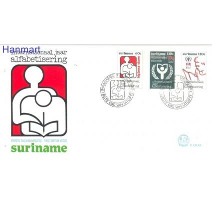 Znaczek Surinam 1990 Mi 1320-1322 FDC