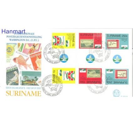 Znaczek Surinam 1989 Mi 1314-1316 FDC