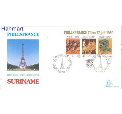 Znaczek Surinam 1989 Mi bl 50 FDC