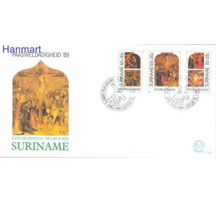Znaczek Surinam 1989 Mi 1291-1293 FDC