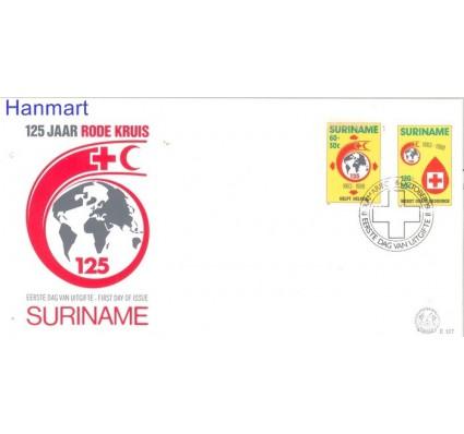 Znaczek Surinam 1988 Mi 1280-1281 FDC