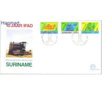 Znaczek Surinam 1988 Mi 1271-1273 FDC