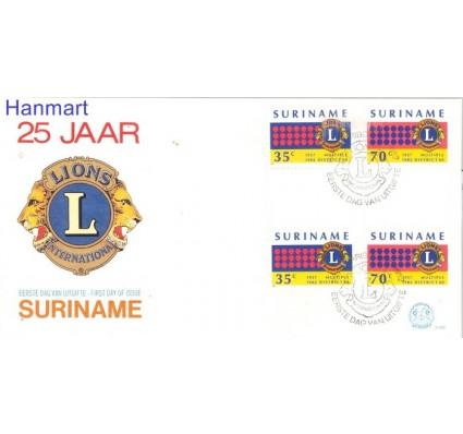 Znaczek Surinam 1982 FDC