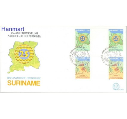 Znaczek Surinam 1983 FDC