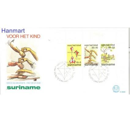 Znaczek Surinam 1984 Mi bl 39 FDC