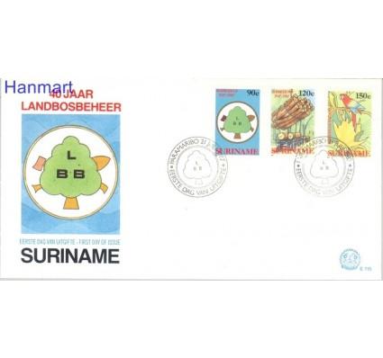 Znaczek Surinam 1987 Mi 1217-1219 FDC