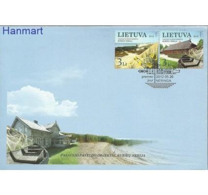 Znaczek Litwa 2012 Mi 1106-1107 FDC