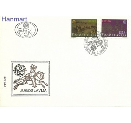 Znaczek Jugosławia 1979 Mi 1787-1788 FDC