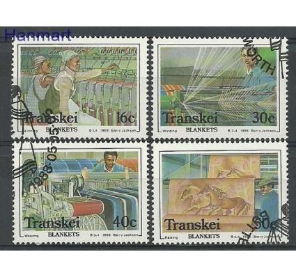 Znaczek Transkei 1988 Mi 218-221 Stemplowane