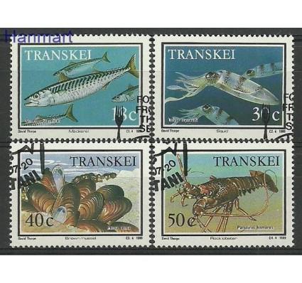 Znaczek Transkei 1989 Mi 238-241 Stemplowane