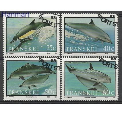 Znaczek Transkei 1991 Mi 267-270 Stemplowane