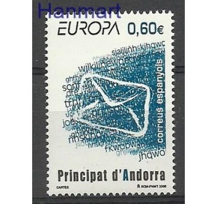 Znaczek Andora Hiszpańska 2008 Mi 350 Czyste **