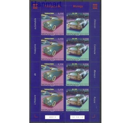 Znaczek Monako 2013 Mi ark 3159-3160 Czyste **