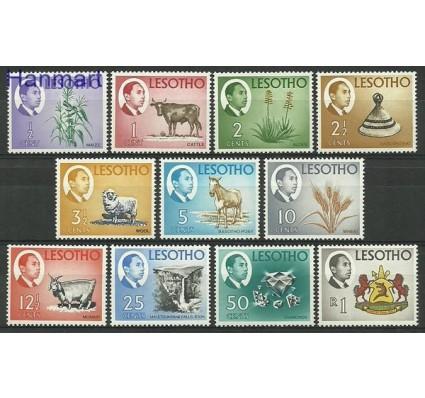 Znaczek Lesotho 1967 Mi 25-35 Czyste **