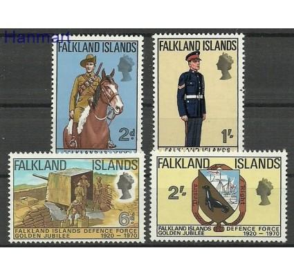Znaczek Falklandy 1970 Mi 183-186 Czyste **