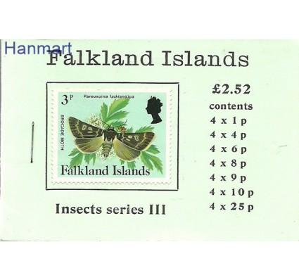 Znaczek Falklandy 1984 Mi mh 390+393+395+397-401 Czyste **