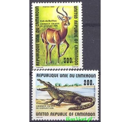 Znaczek Kamerun 1980 Mi 940-941 Czyste **