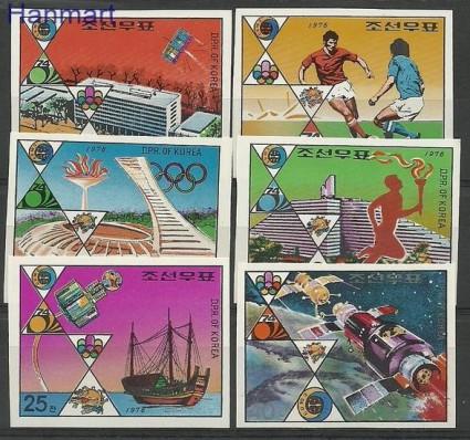 Znaczek Korea Północna 1976 Mi  Czyste **
