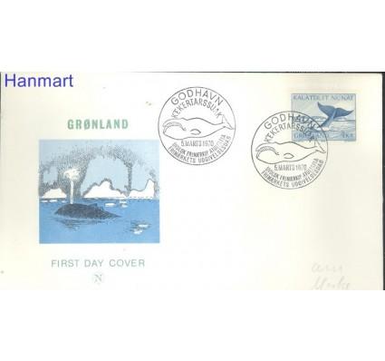 Znaczek Grenlandia 1970 Mi 75 FDC