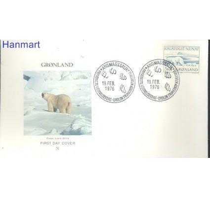 Znaczek Grenlandia 1976 FDC