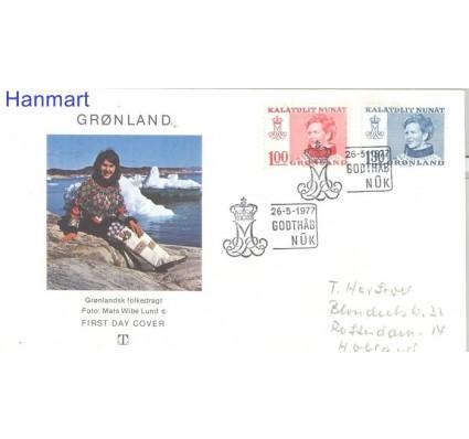 Znaczek Grenlandia 1977 FDC